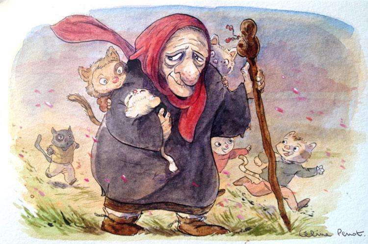 La-vieille_femme-aux-enfantsChats